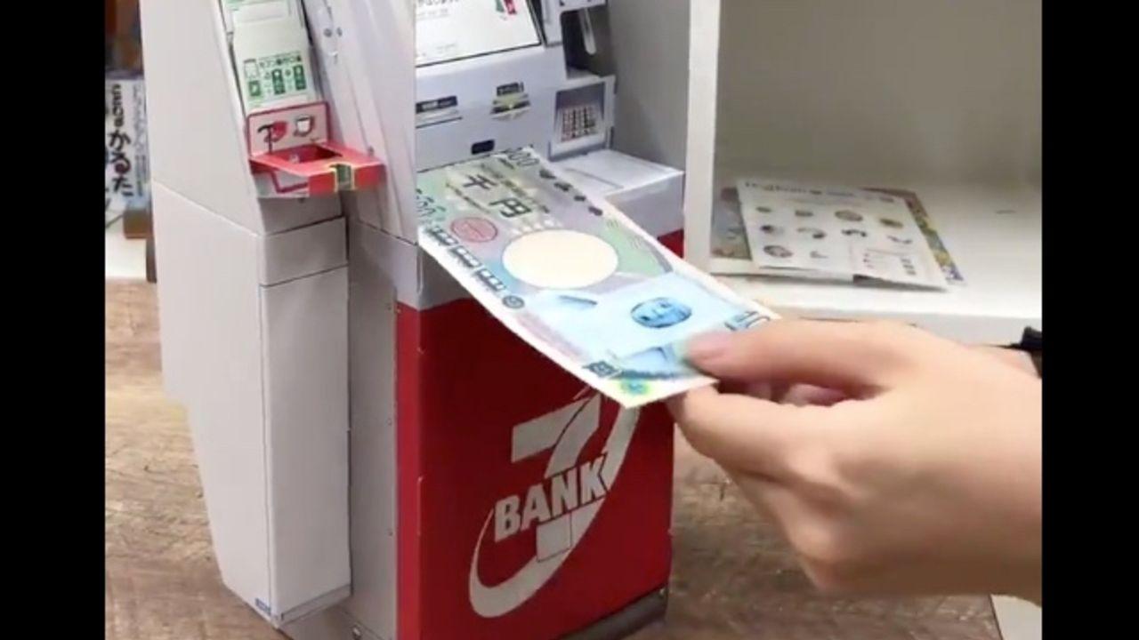 「幼稚園9月号」の付録「セブン銀行ATM」が話題に!モーターユニット内蔵で本物と同サイズのお札の出し入れが可能