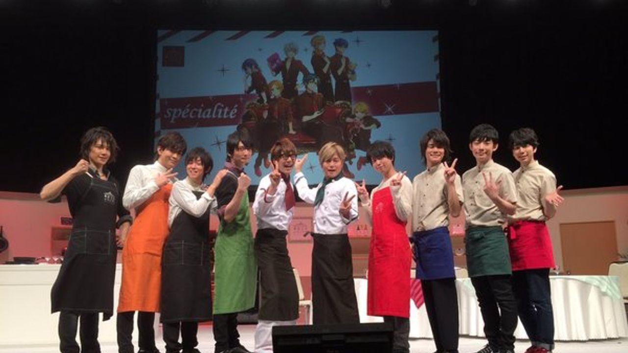 昨日7日に開催された『東京乙女レストラン』のイベントを収めたDVDの発売が決定!