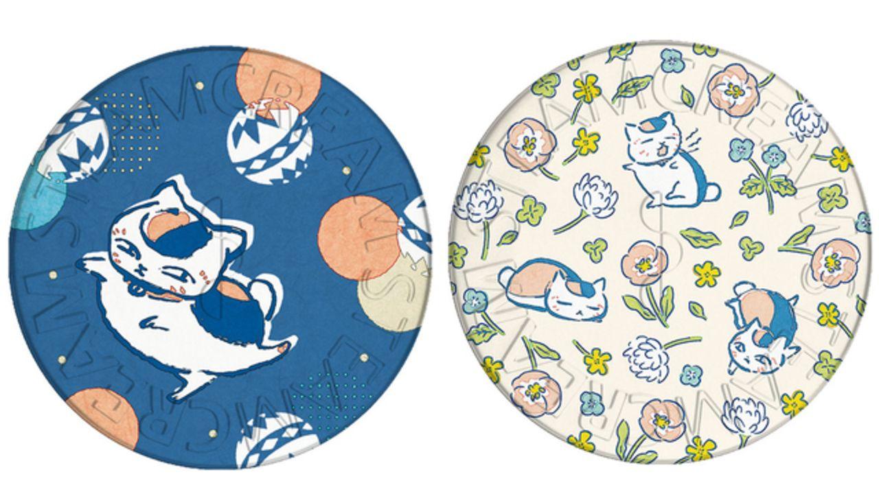 『夏目友人帳』と顔やからだ・髪まで保湿できるスチームクリームがコラボ!ニャンコ先生のデザイン缶2種が登場!