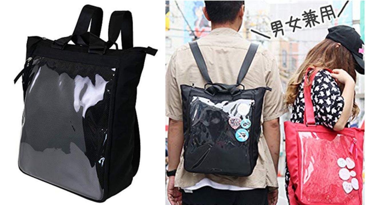 ナイロン痛バが登場!8色のカラー展開&リュックとしてもトートバッグとしても使用可能な4Way仕様