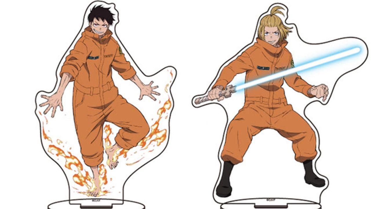 『炎炎ノ消防隊』アクリルフィギュアが登場!能力を発動した森羅をはじめ第8特殊消防隊のメンバーがラインナップ