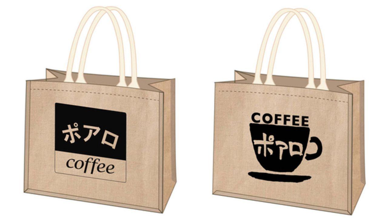 『名探偵コナン』喫茶ポアロのミニトートバッグが登場!スクエアロゴ&カップロゴの2種類がラインナップ