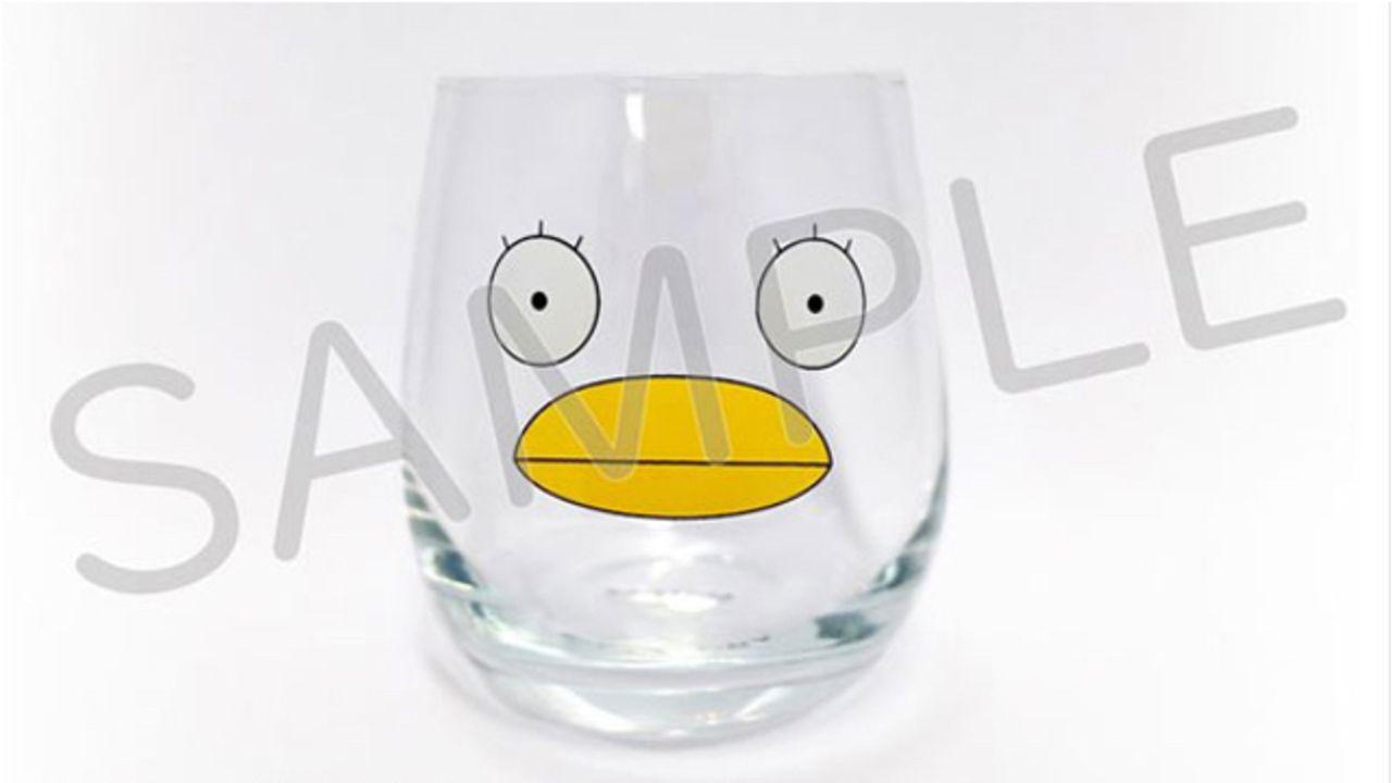 『銀魂』エリザベスの顔が可愛いグラスが登場!入れる飲み物の色によって全く違った印象に