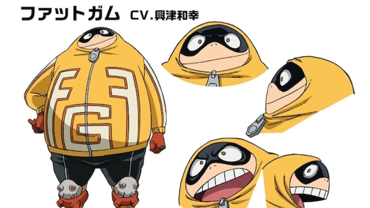 TVアニメ『ヒロアカ』第4期の新キャラ・ファットガム役を興津和幸さんが担当!キャラデザ&キャストコメントも到着