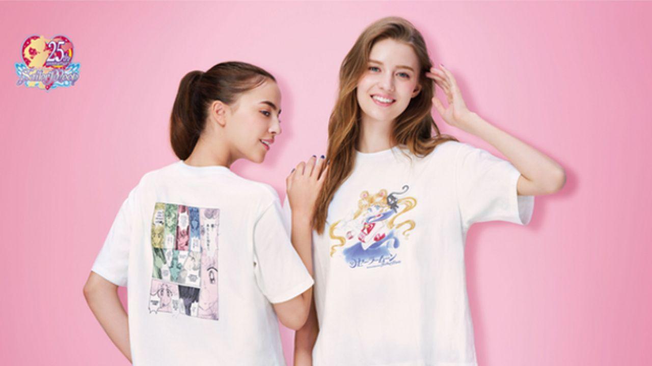 『セーラームーン』xユニクロ「UT」8月23日販売開始!原作者・武内直子先生の原画をもとに商品化