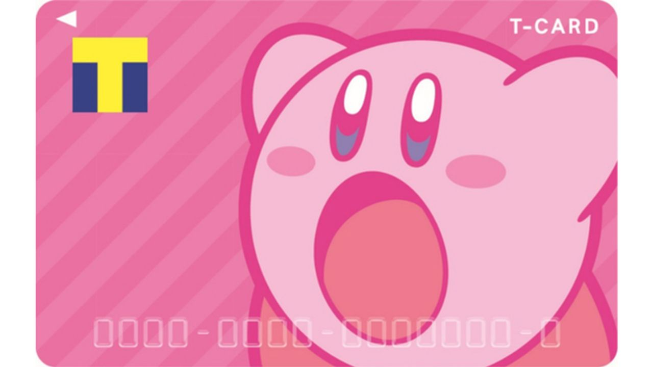 『星のカービィ』ポイントをたくさん吸い込んでくれそう!?ピンクで可愛いデザインの「Tカード」8月23日発行開始!