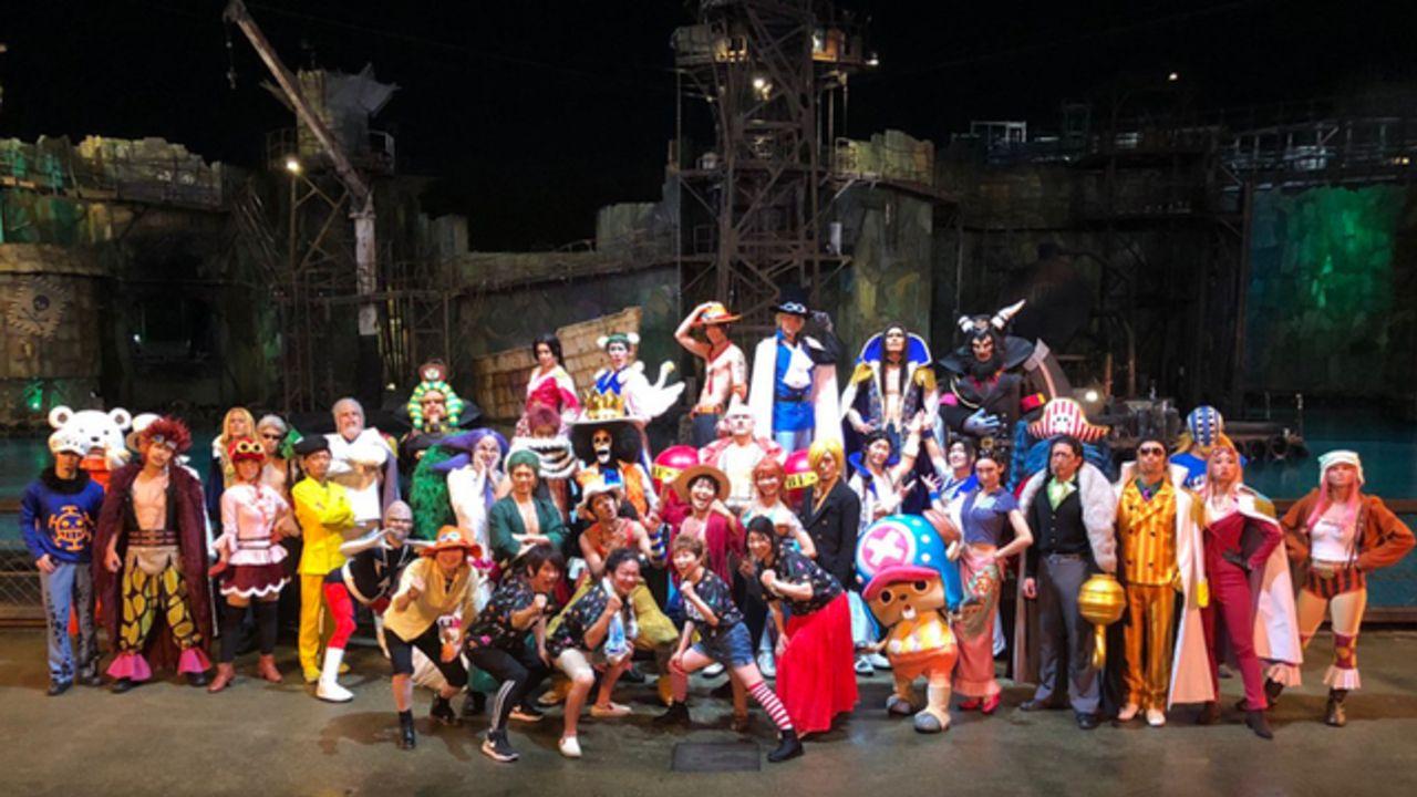 レジェンド声優たちが「USJ」を満喫!「ワンピース・プレミアショー」田中真弓さん・山口勝平さんらサプライズ出演