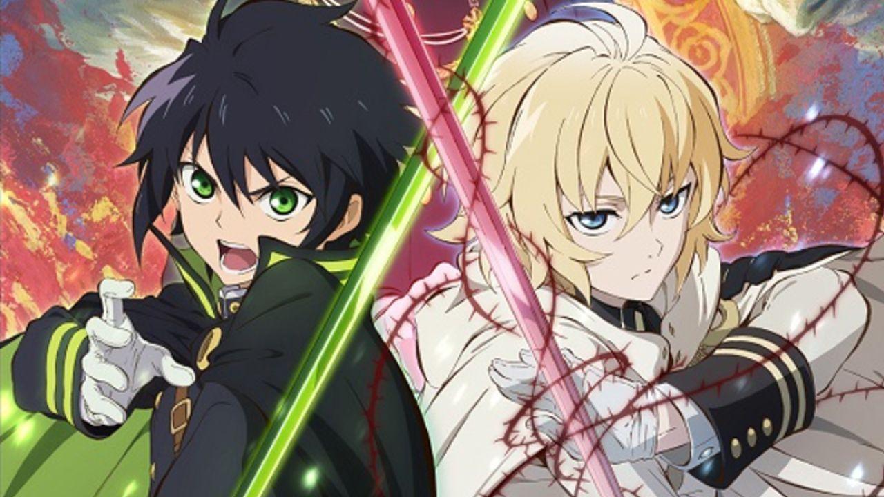 吸血鬼の脅威にさらされた世界が舞台!TVアニメ『終わりのセラフ』本日8月16日よりYouTubeで無料公開スタート