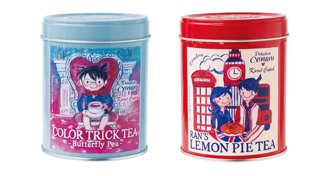おいしい紅茶はいかが?『名探偵コナン』がおしゃれな缶入り紅茶になって登場!