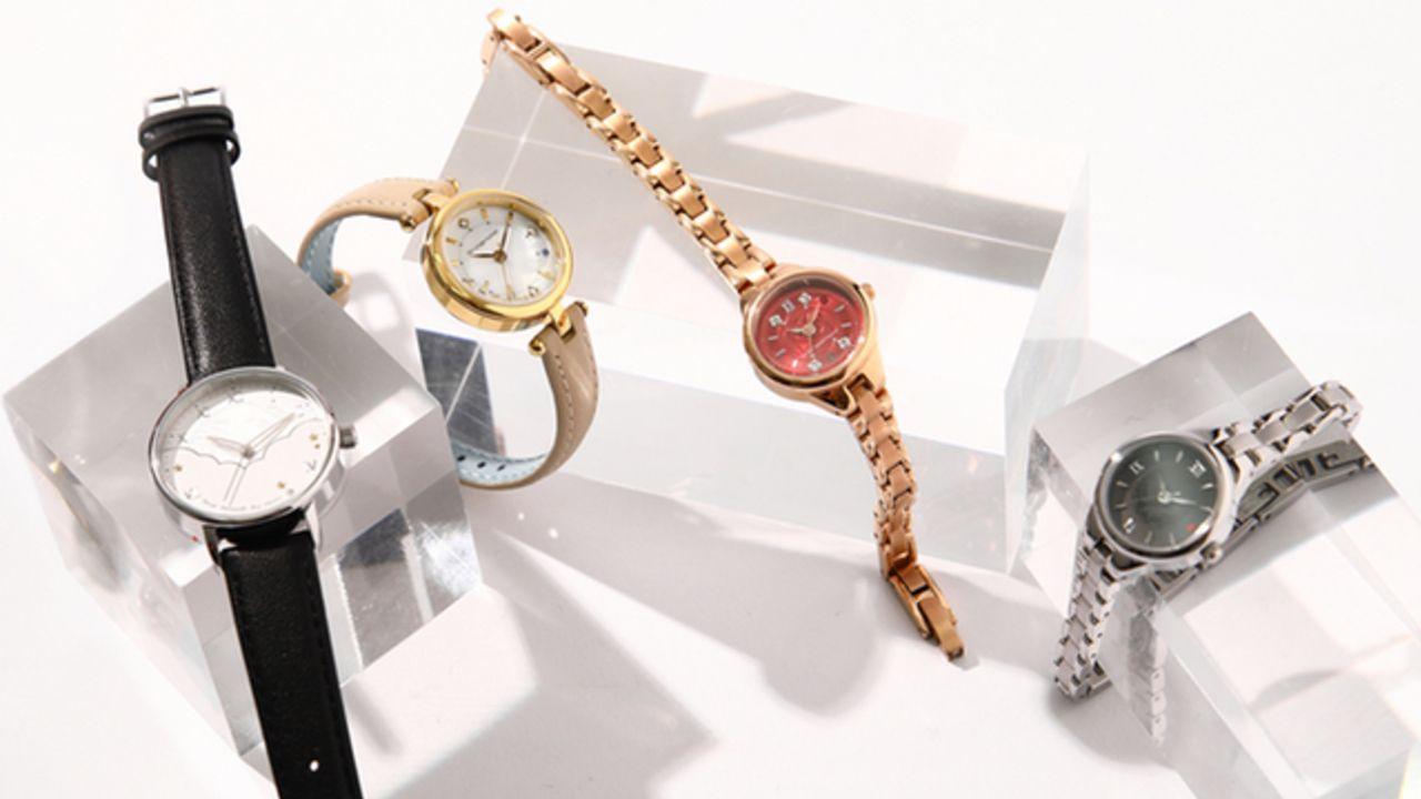 『文スト』旬なスタイルを叶えるコラボ腕時計&バッグが新登場!アイテムには各キャラの異能力名をデザイン