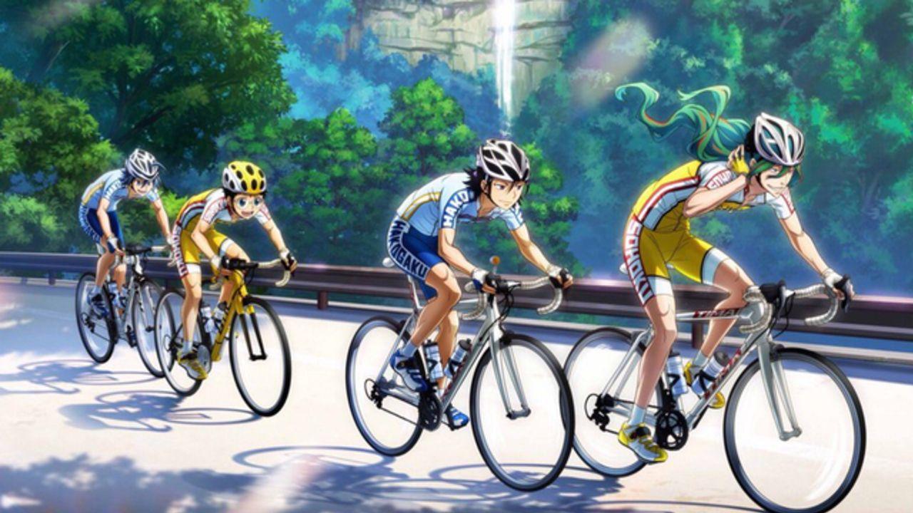 『弱ペダ』和歌山の絶景スポットにクライマーズ&T2が登場!サイクリングルート「WAKAYAMA800」とのコラボ開催決定