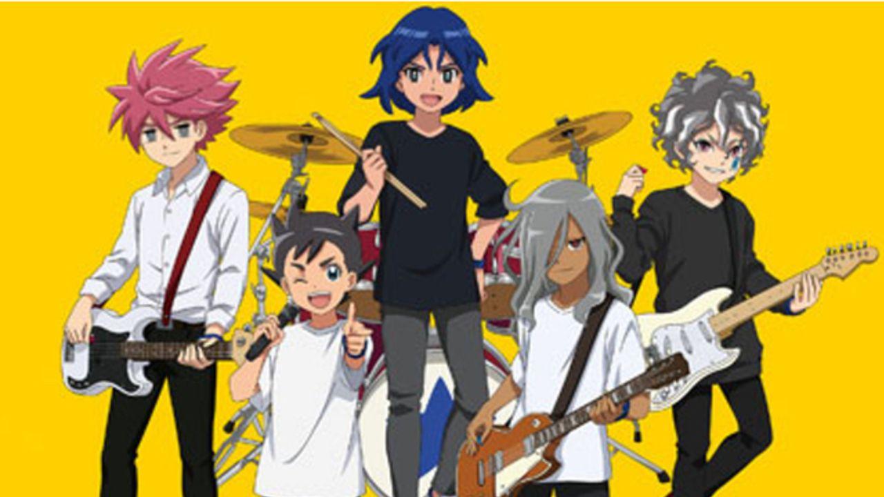 明日人らがロックバンドに!『イナイレ』x「タワレコ」コラボ開催!描き下ろしを使用した限定グッズを販売
