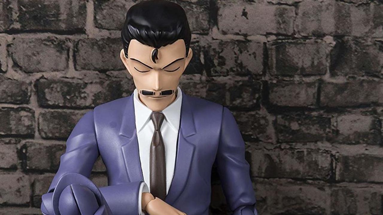 眠りの小五郎も再現可能『名探偵コナン』毛利小五郎が可動フィギュアになって登場!コミカルな表情やパーツも付属