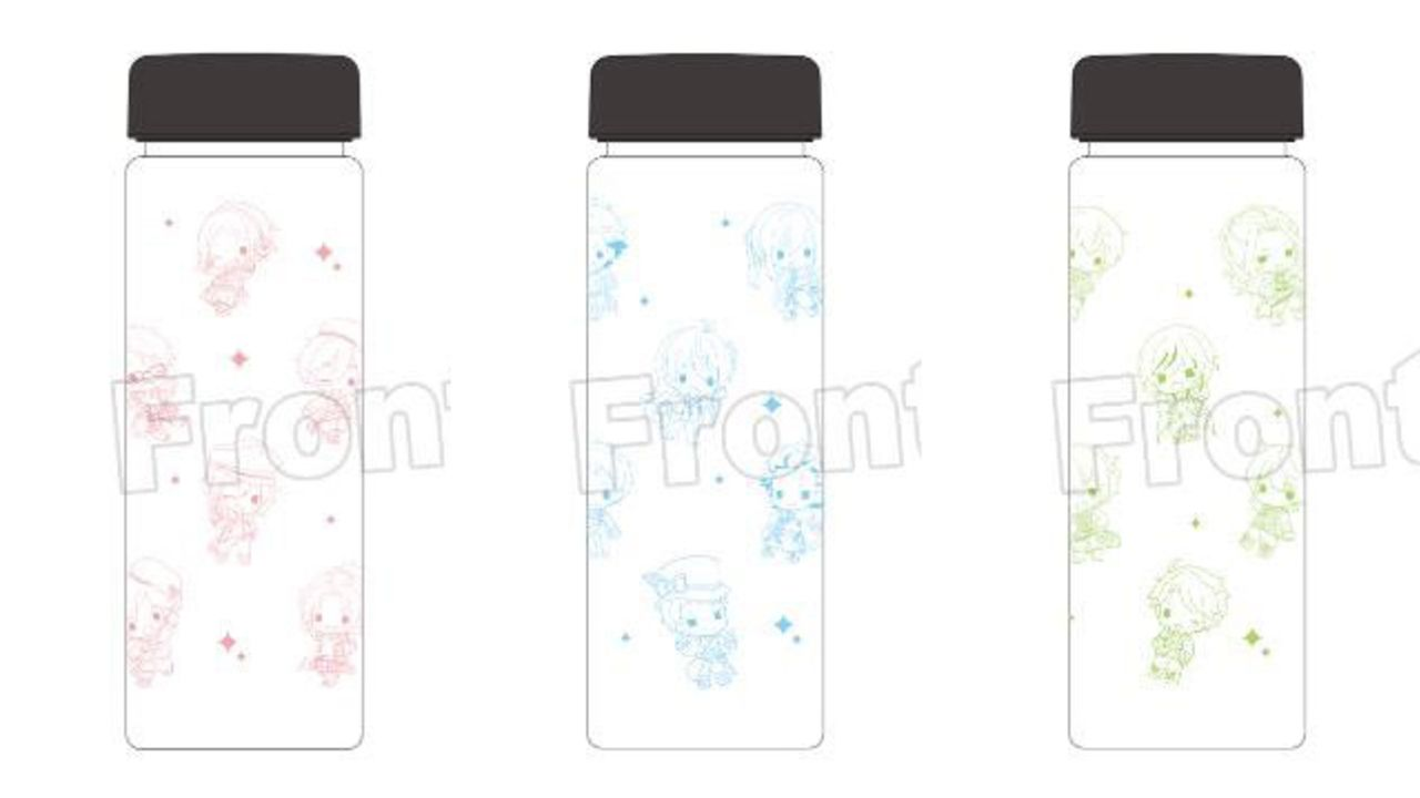 TVアニメ『あんスタ』デフォルメイラストが可愛いクリアボトルが登場!職場や学校で使いやすいシンプルなデザイン