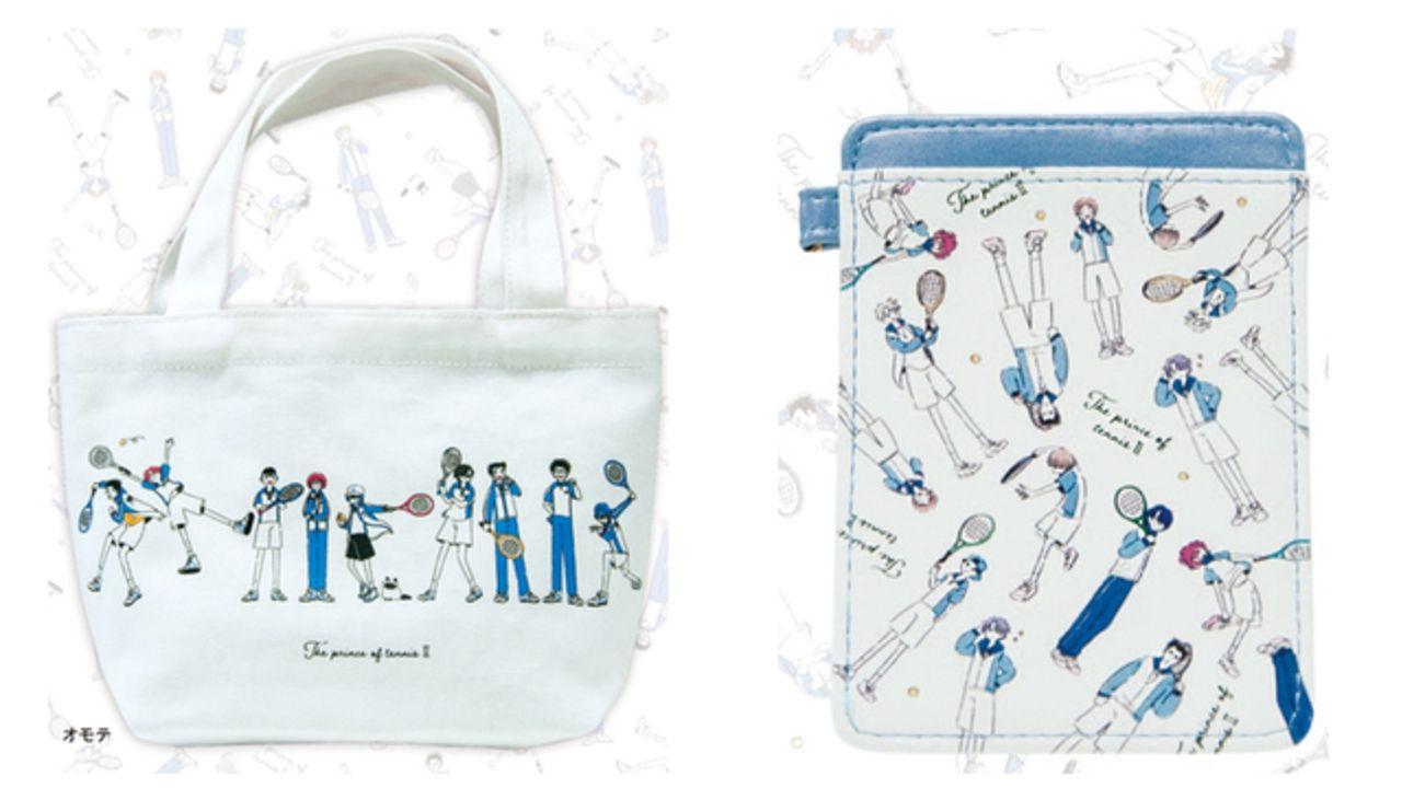 『テニプリ』ゆる可愛いイラストを使用したグッズが登場!青学・氷帝ら5校のミニトートバッグやパスケースがラインナップ
