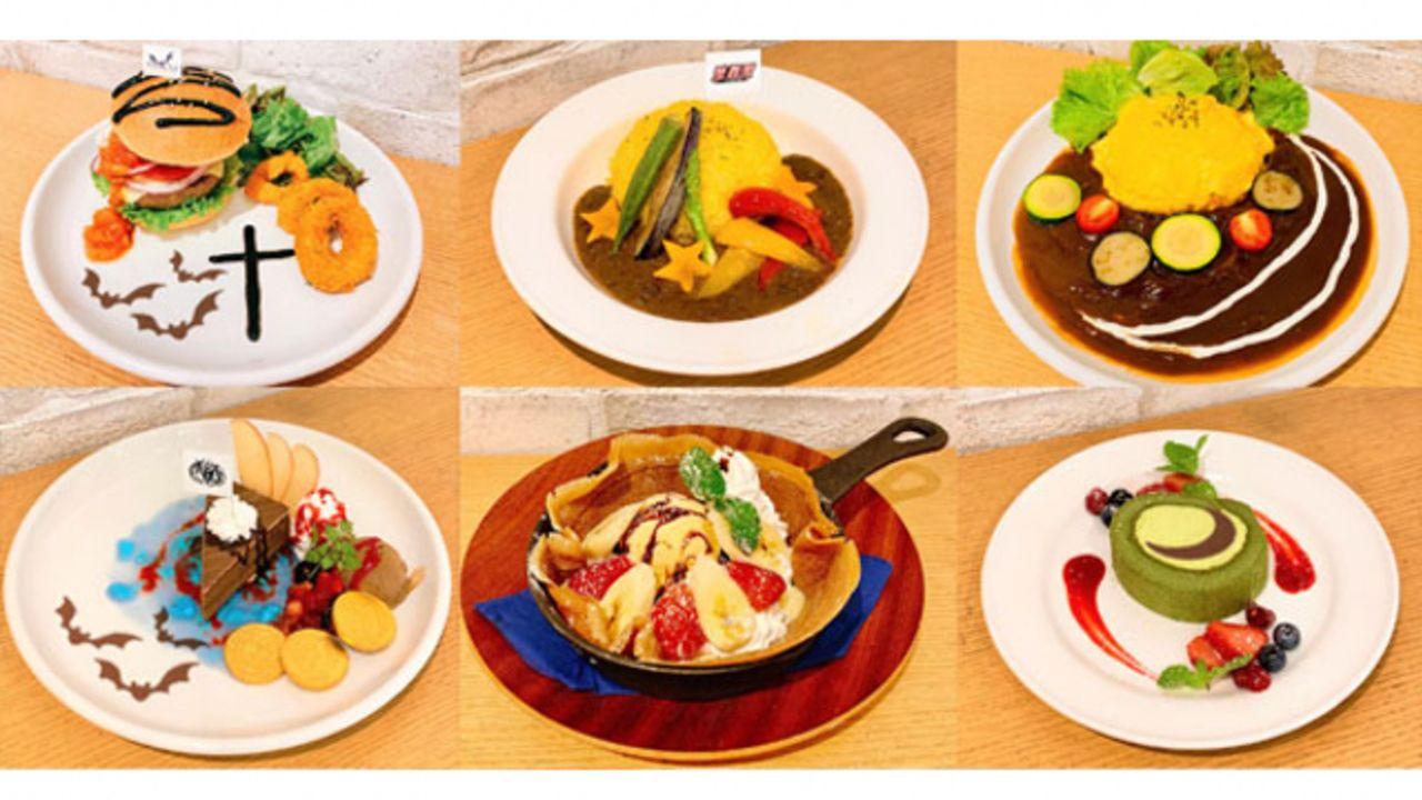 『あんステDR』コラボカフェが10月より東京・大阪で開催!キャスト考案のメニューやコラボ限定グッズが登場