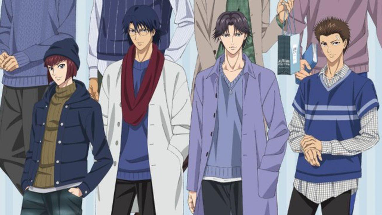 秋服姿の氷帝メンバーが登場『テニプリ』東京&大阪で期間限定ストアがオープン!描き下ろしを使用したグッズを販売
