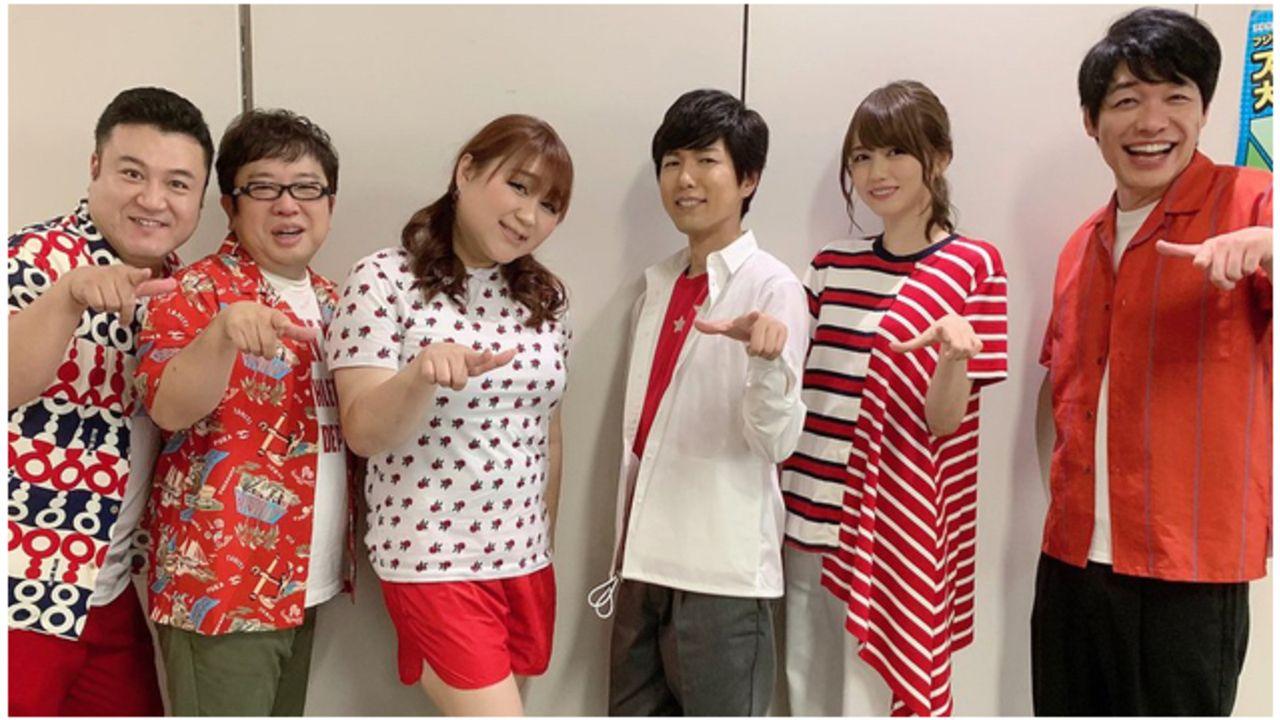 神谷浩史さんがフジテレビ「VS嵐」に初登場!松本潤さんに神谷さんがアフレコをする予告動画も公開中