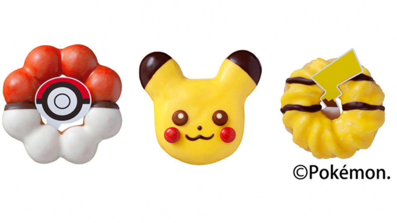 大好評だった「ミスド」x「ポケモン」が帰ってくる!ピカチュウ&2種類の新ドーナツが11月から販売!