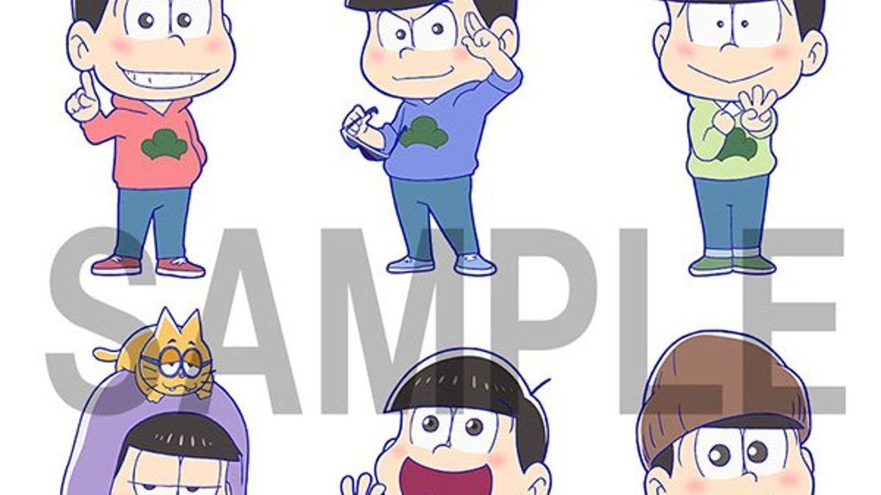 『おそ松さん』期間限定ショップオープン決定!描き下ろしイラストも公開