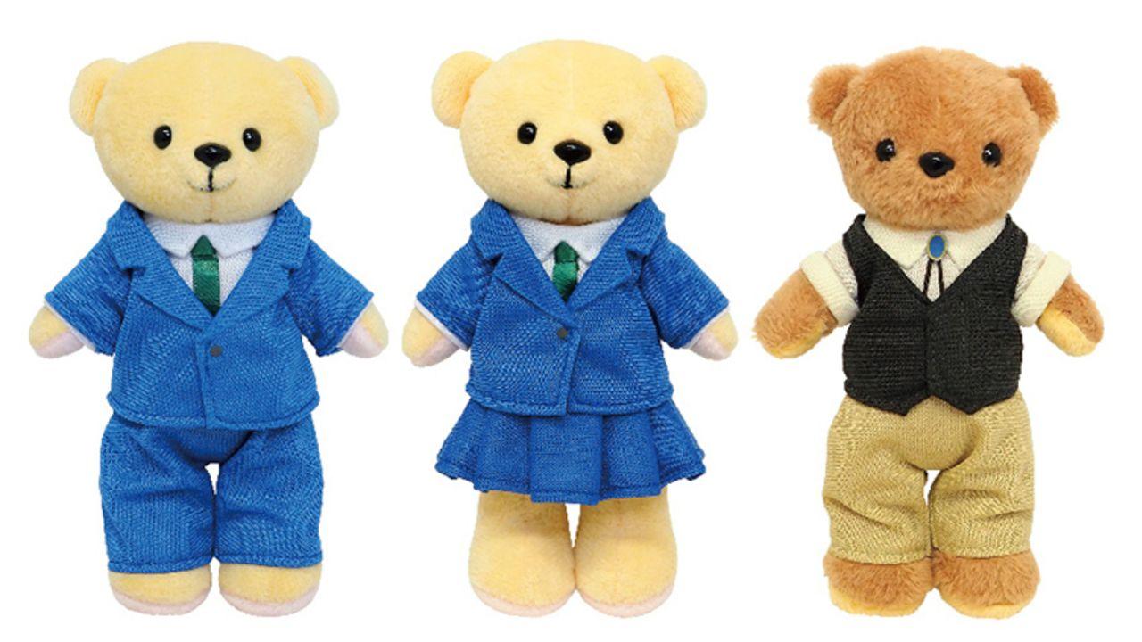 『名探偵コナン』くまめいと用ミニチュア衣装が新登場!新一・蘭・安室(バーボン)がラインナップ!