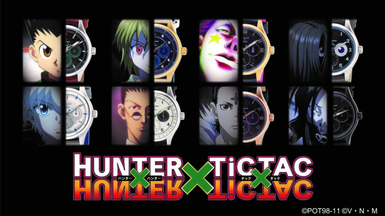 『HUNTER x HUNTER』キャラをイメージしたコラボウォッチが登場!ゴンモデルの秒針はあの衝撃のシーンが…