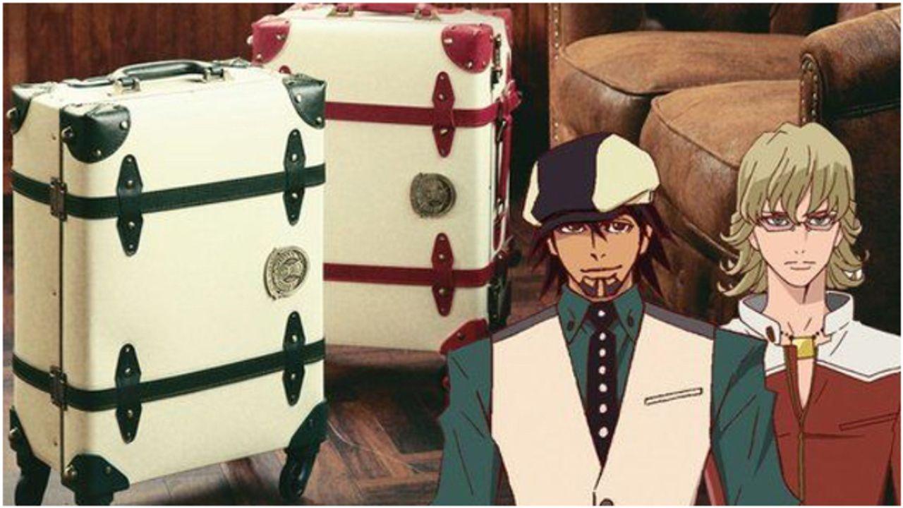 『タイバニ』トランクデザインのスーツケースが登場!機内持ち込み可能サイズで旅行やお出かけにピッタリ