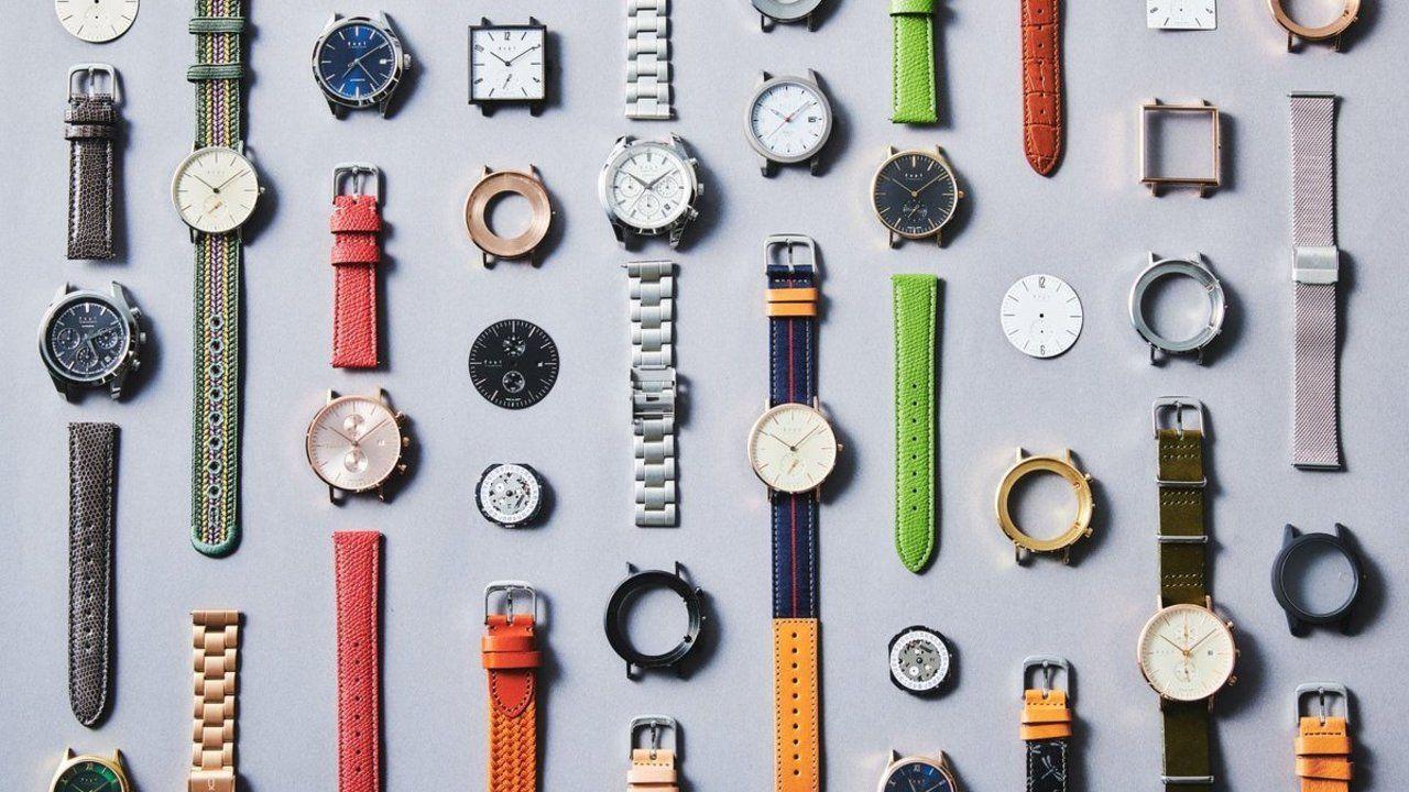 推しをイメージして作れる腕時計専門店が話題に!15000種類の中から自分だけの腕時計を作れるお店「ノット」