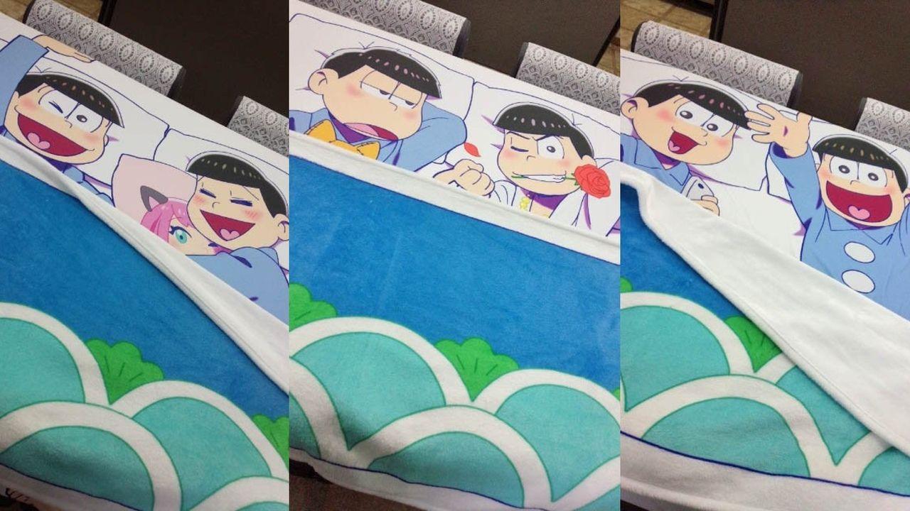 6つ子と添い寝?養う?『おそ松さん』の添い寝・養いシーツ全9種類登場!