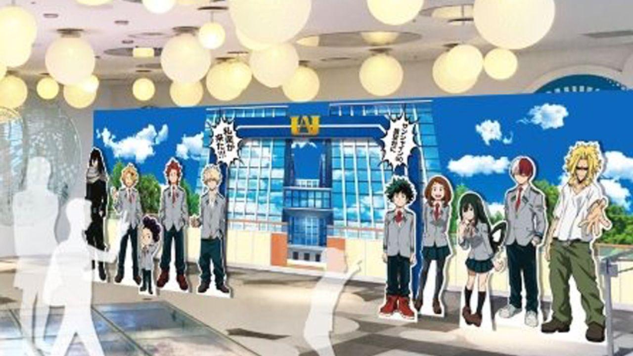 劇場版『ヒロアカ』雄英高校のオープンスクール気分を味わえちゃう!「サンシャイン60展望台」コラボイベント開催決定
