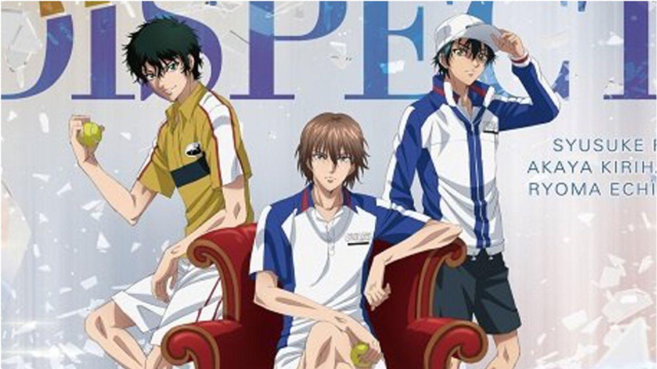 溢れ出る王者感『テニスの王子様 BEST GAMES!!』不二・切原・リョーマが歌うEDの描き下ろしジャケット公開!