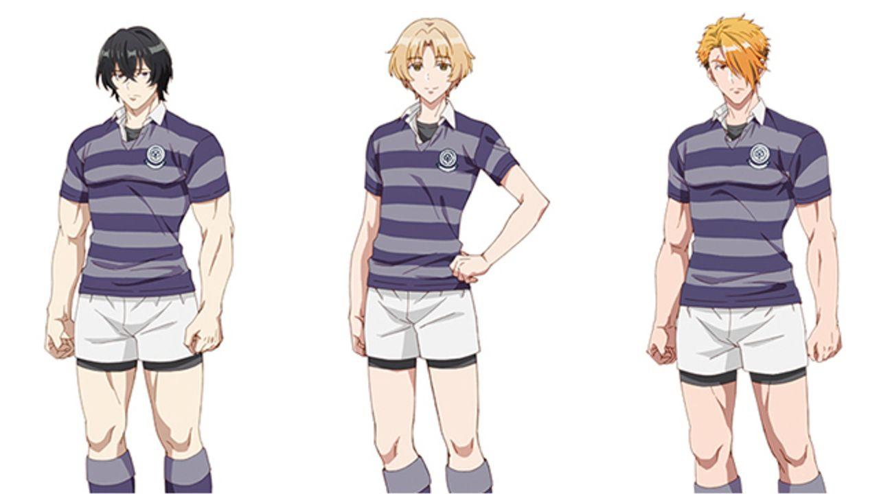 ラグビーアニメ『number24』まとめ役のおかんキャラは矢野奨吾さんに決定!追加キャラ&キャスト5名発表