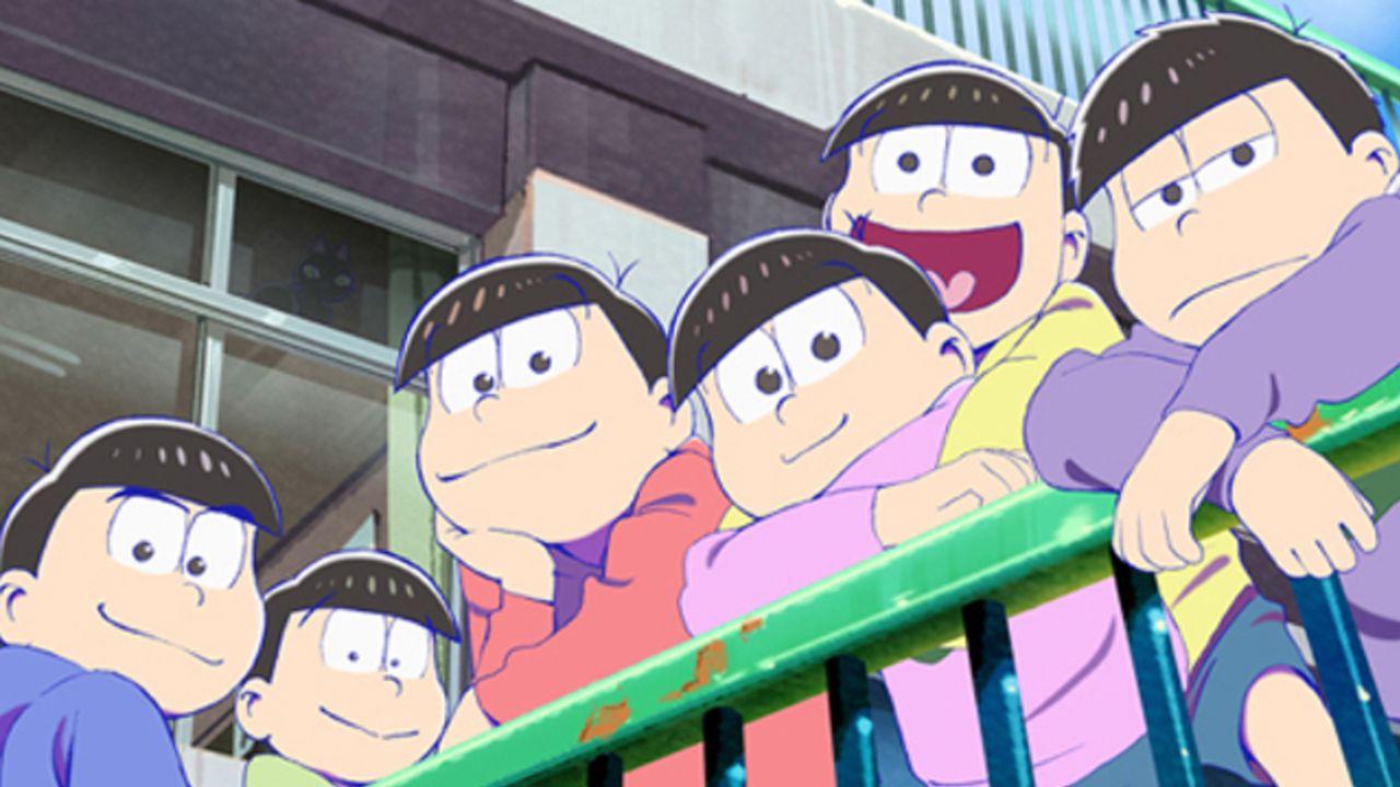 劇場版『えいがのおそ松さん』早くも「dTV」で最速配信!学生時代の6つ子たちも登場する完全オリジナルストーリー