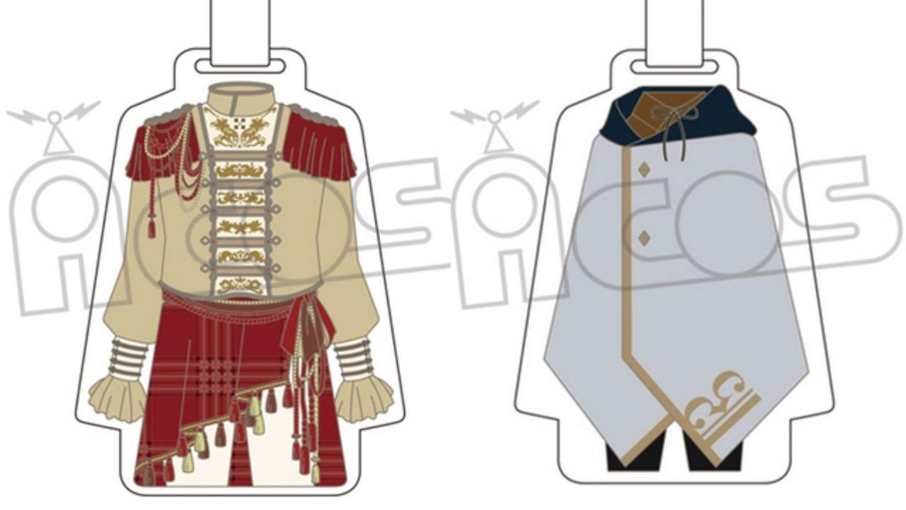 『アイナナ』16人の衣装をそのままアクリル製ラゲッジタグに!合皮製のベルトも可愛いグッズと一緒に旅行&お出かけしよう♪