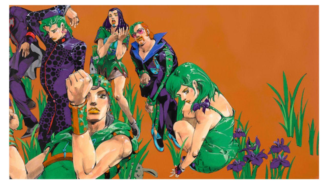 『ジョジョ』荒木飛呂彦原画展の新キービジュアル公開!ジョニィや花京院らを描き下ろし&オリジナルグッズ付き前売り券情報も