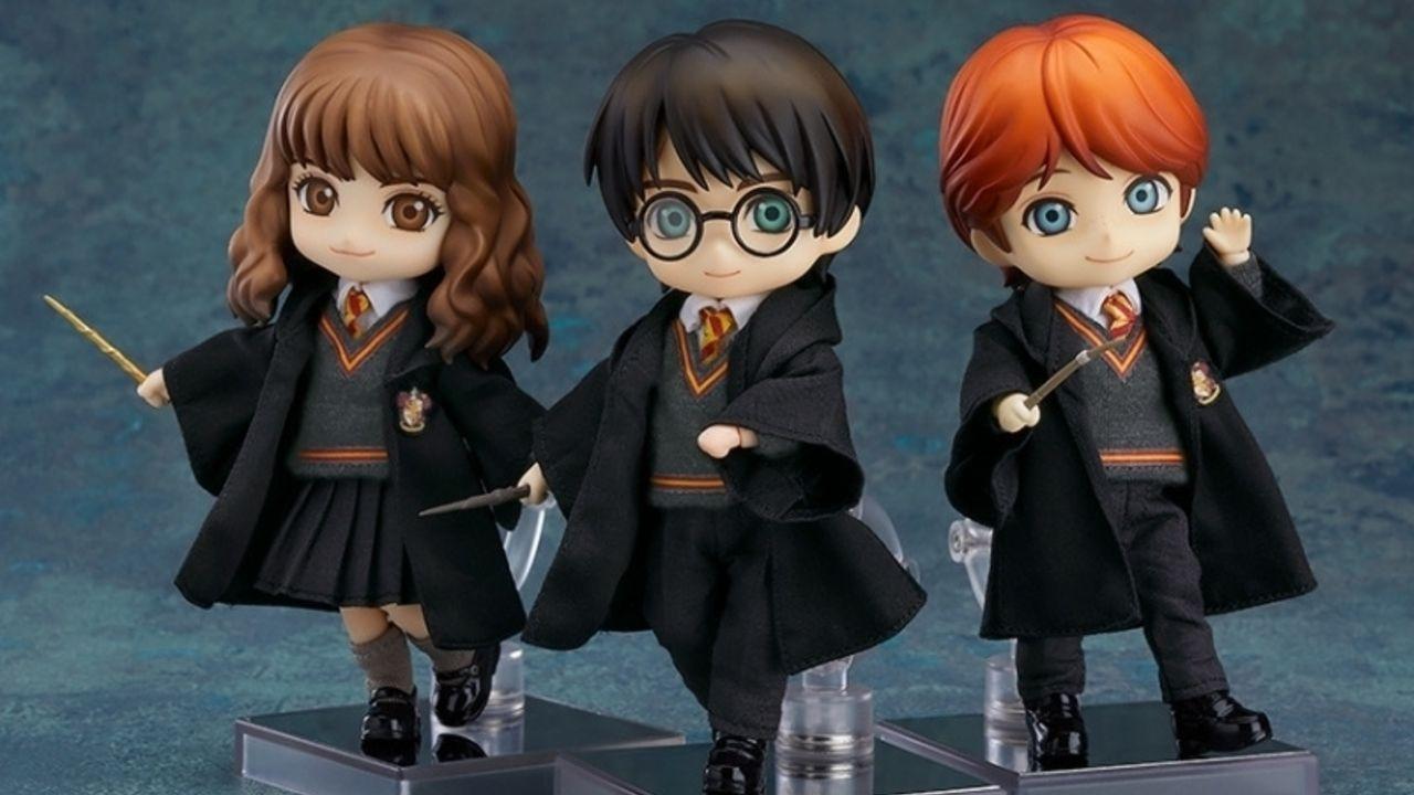 ハリー&ハーマイオニー&ロンの大親友3人が集合!『ハリーポッター』世界観を堪能できる「ねんどろいど」登場