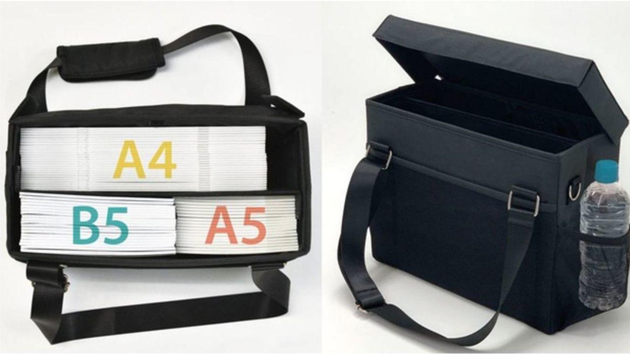 3分で完売した人気商品「コミケ用 ミーティングバッグ」一般販売決定!同人誌の収納に特化したオタクに優しい機能満載