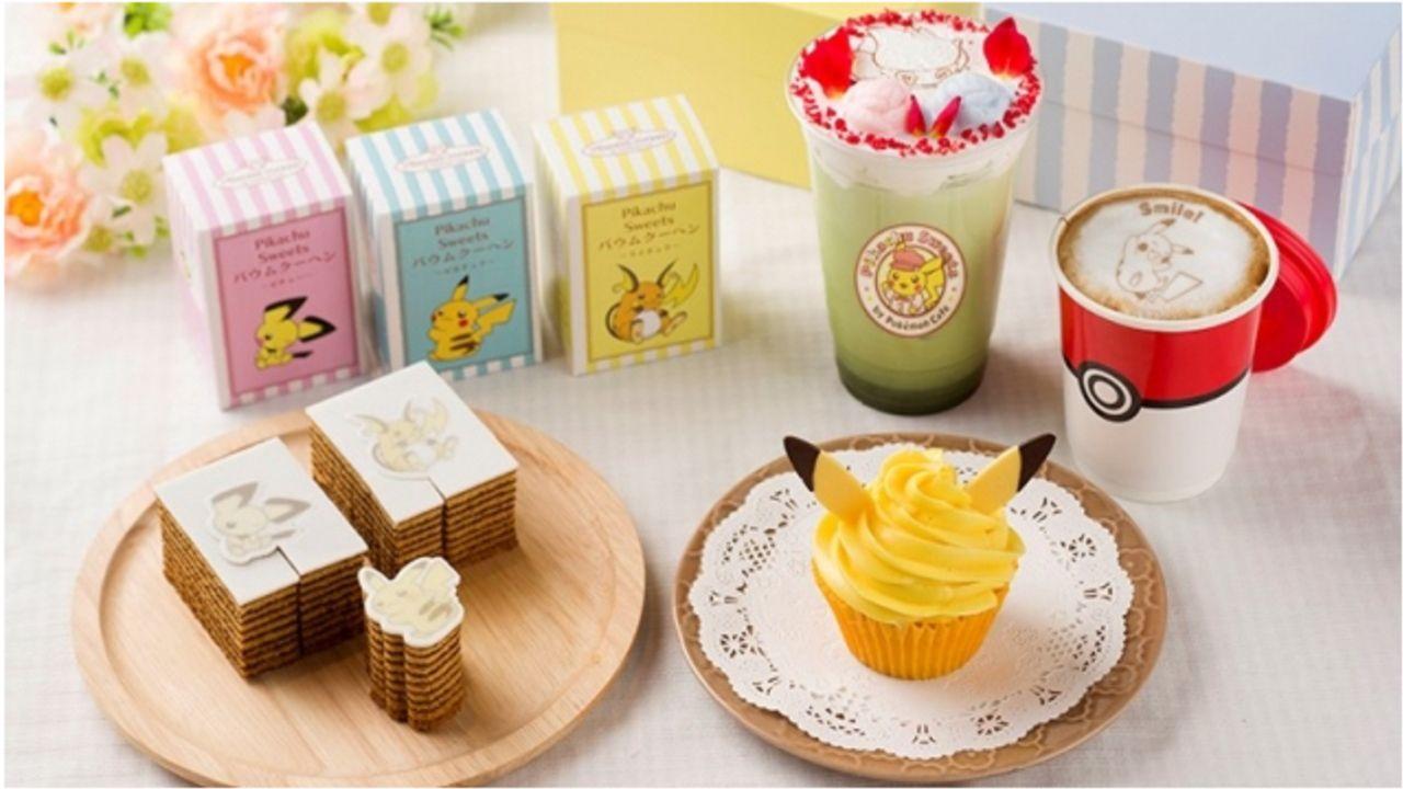 『ポケモンカフェ』テイクアウト専門店オープン!ピカチュウのカップケーキ&型抜きバアムなど可愛いメニューが勢揃い