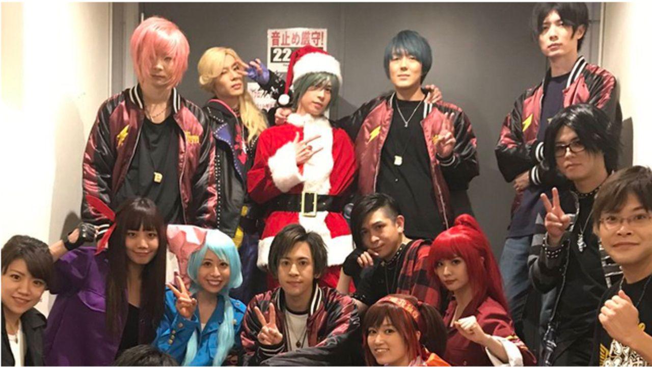 『バンやろ』高良京役・小林正典さんら出演者によるライブイベントのオフショットまとめ!キャラコス&クリスマス衣装を披露