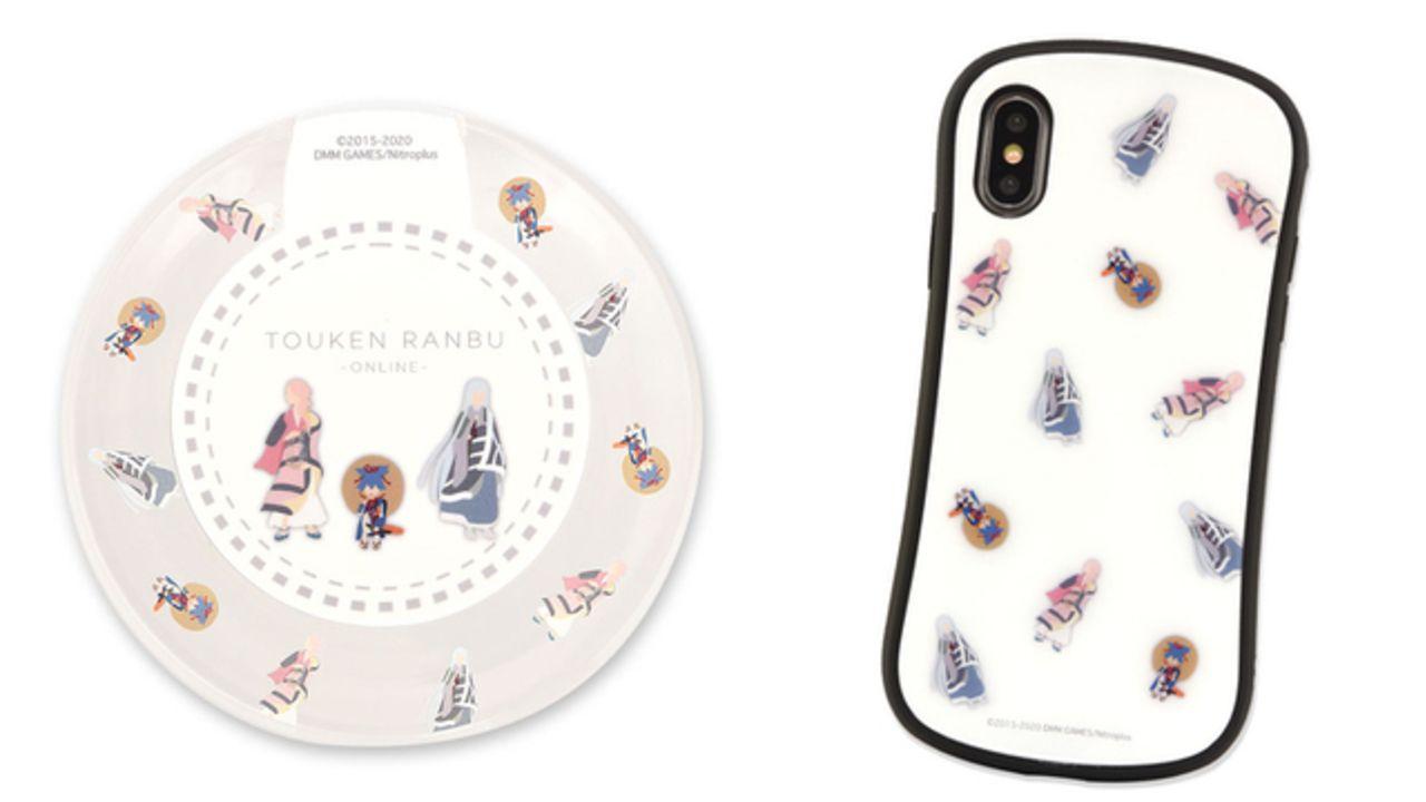 『刀剣乱舞』刺繍柄モチーフのスマホ雑貨が登場!左文字三兄弟が描かれたゆる可愛いデザイン&iPhoneケースなど全3種