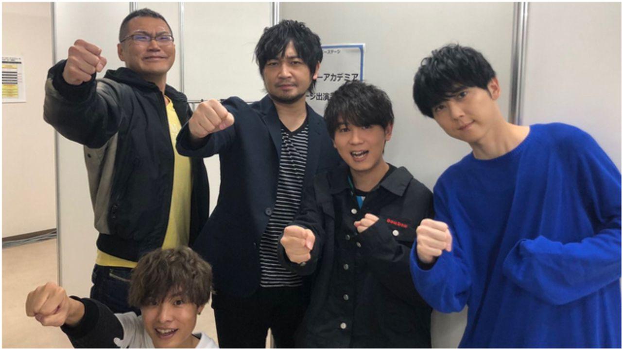 『ヒロアカ』山下大輝さん、梶裕貴さんら登壇イベント公式レポート到着!キャスト陣による仲良しオフショットツイートも