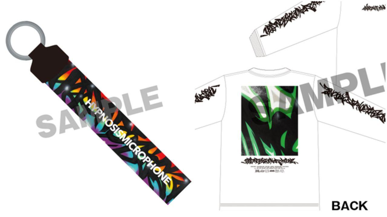 『ヒプマイ』5th LIVEグッズ第2弾情報解禁&会場で販売決定!グラフィックロングTシャツやマフラータオルがラインナップ