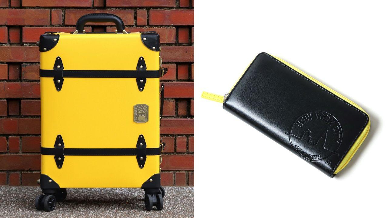 『BANANA FISH』x「NYC」キャリーケースと財布が発売決定!イメージカラーの黄色と黒が映える商品に