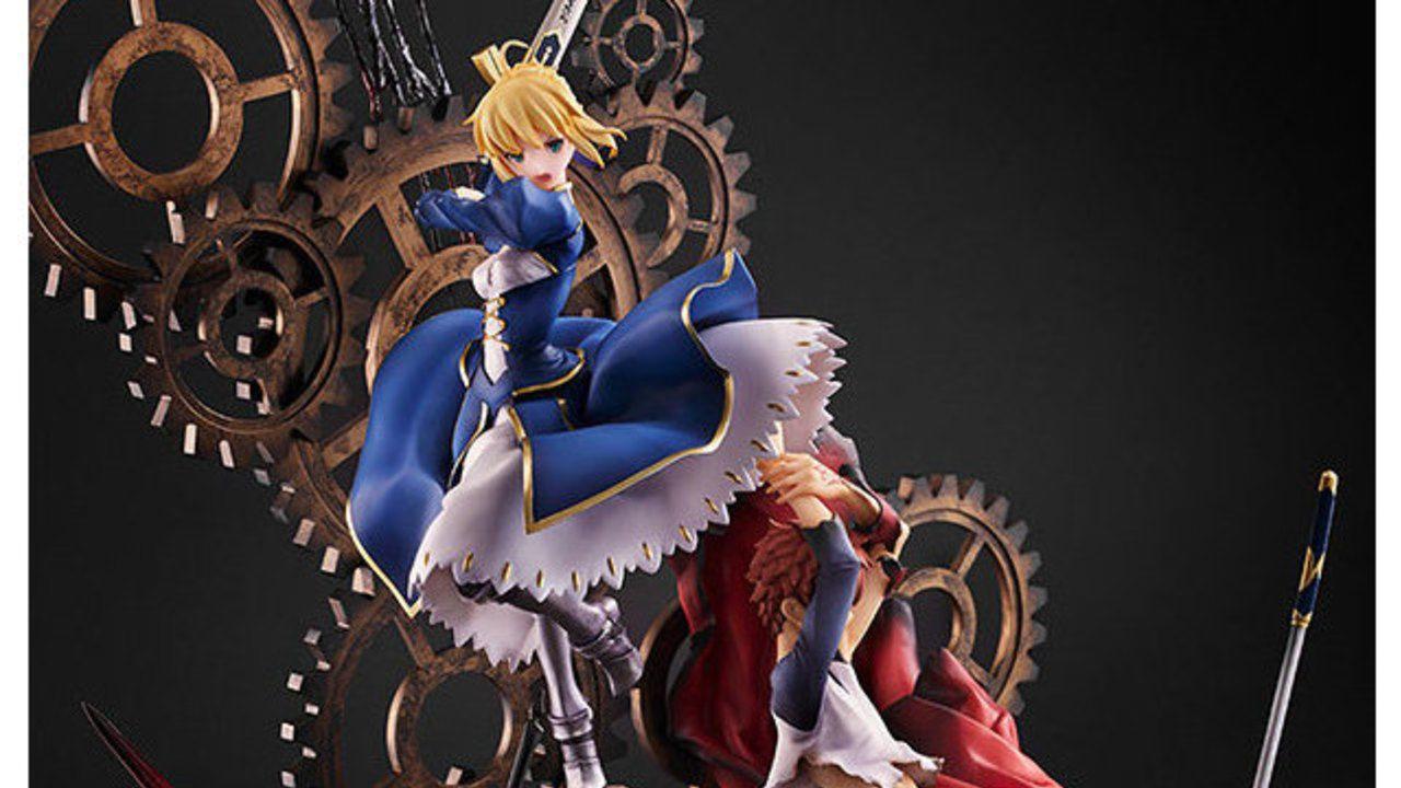 士郎とセイバーが凛々しい!『Fate』イリヤスフィールの聖杯「無限の剣製」が再現された15周年記念フィギュア登場!