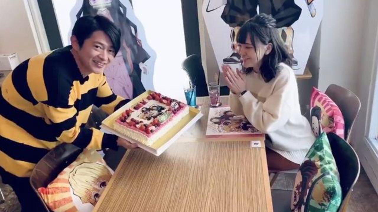 『鬼滅の刃』禰豆子の誕生日を祝う下野紘さん&鬼頭明里さんの動画公開!善逸「禰豆子ちゃああああん!誕生日おめでとおおお!」