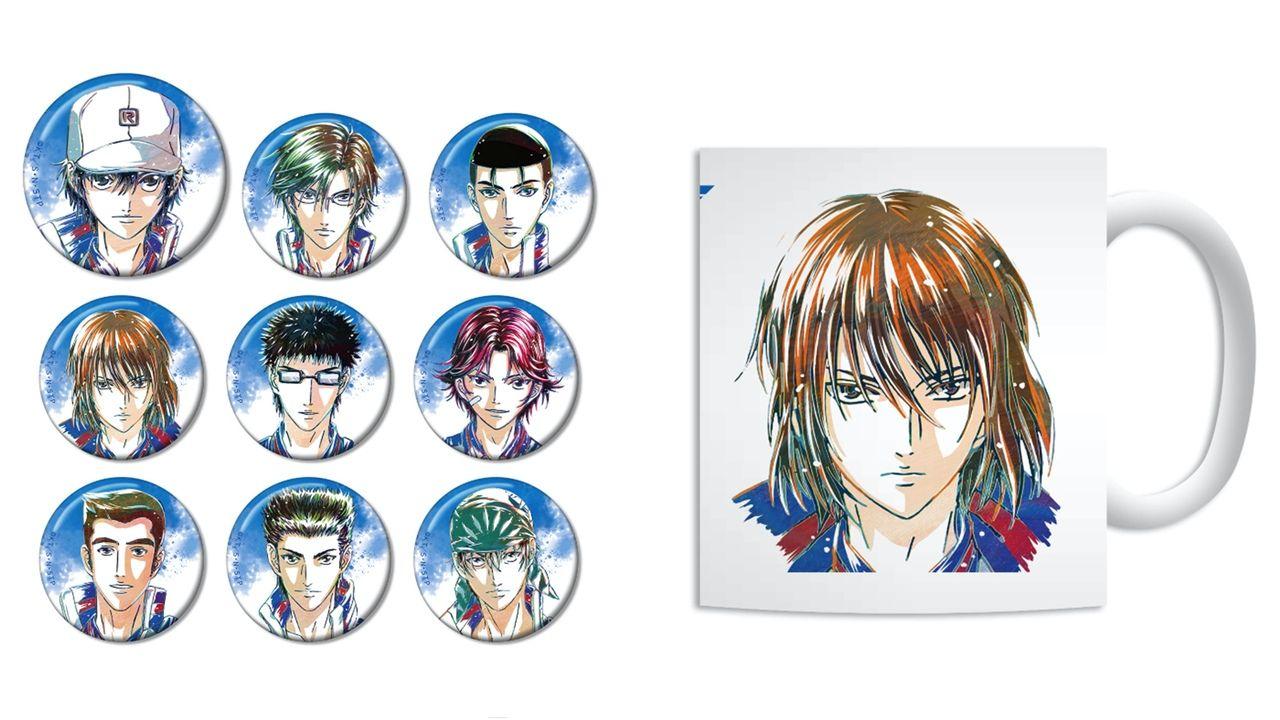 『テニプリ』青学メンバーが新たなタッチで魅力的に!トレーディング缶バッチやマグカップなど「Ani-Artシリーズ」に新登場