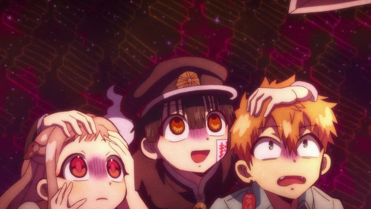『地縛少年花子くん』3話感想 コミカルな掛け合いに安心する!3人は異界に通じるという噂の七不思議「ミサキ階段」へ