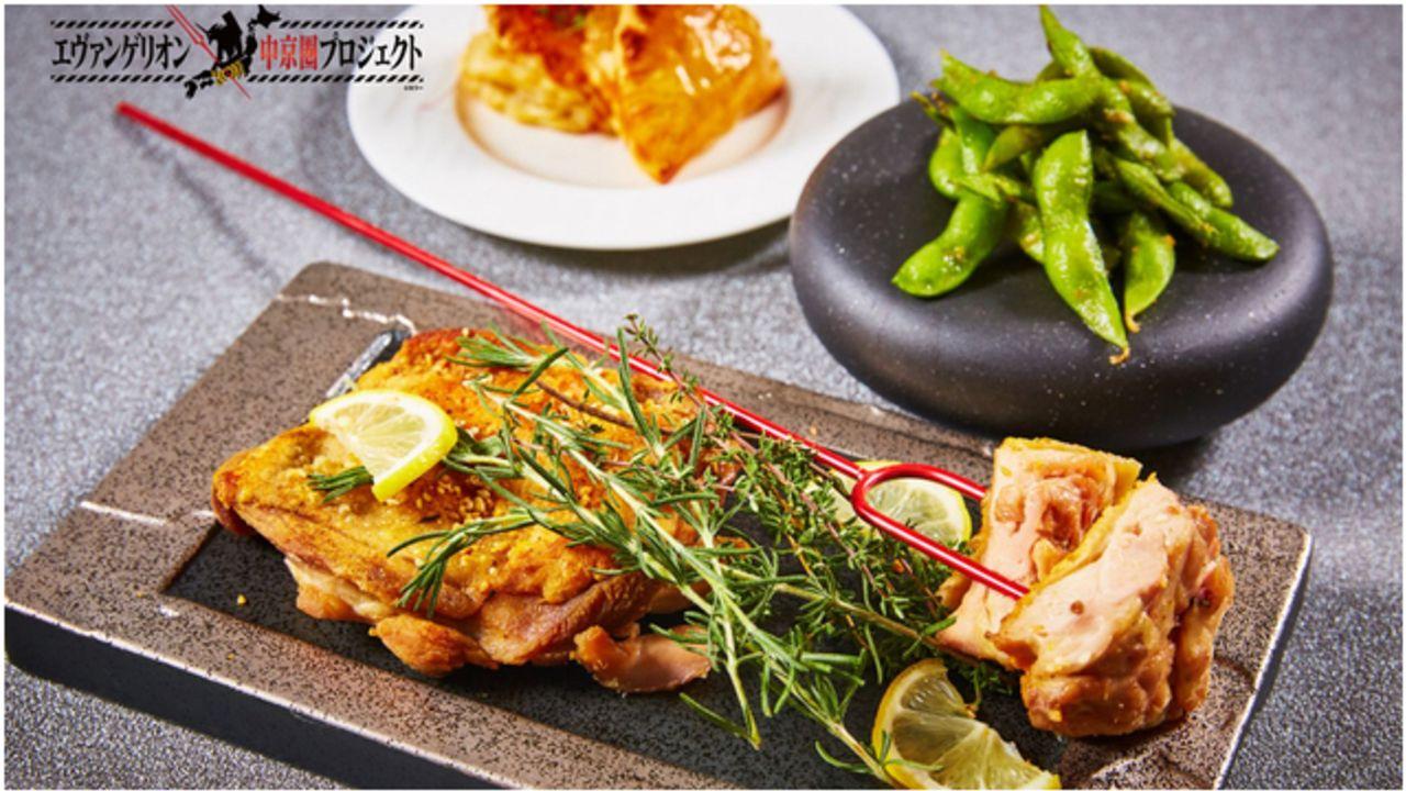 『エヴァンゲリオン』フード&スイーツブッフェが名古屋で開催決定!ロンギヌスの槍で食べるチキンや渚カヲルの立像も登場