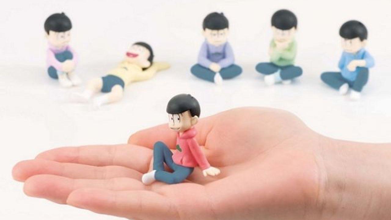 6つ子が手のひらサイズに!?『おそ松さん』パルメイトフィギュアの情報が公開!