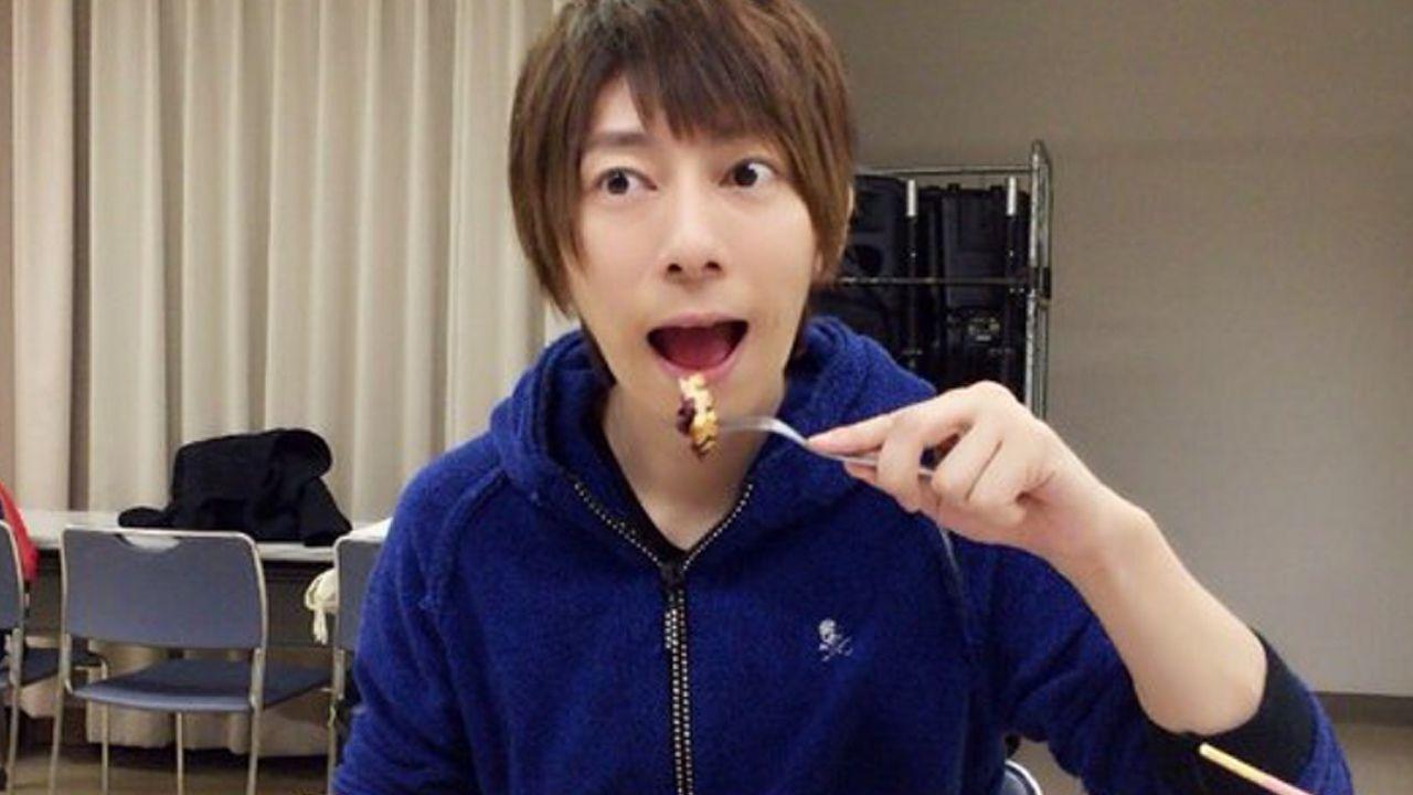 「ダンデビ」×「アニメガカフェ」開催期間後少し コラボメニュー羽多野渉さんも試食!